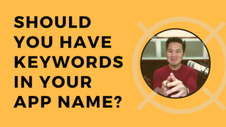 Should You Have Keywords in Your App Name?