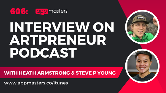 606: Interview on Artpreneur Podcast