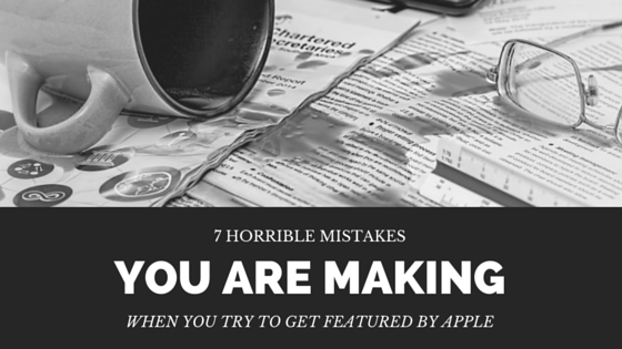7 horrible mistakes you're making when you try to get an Apple feature