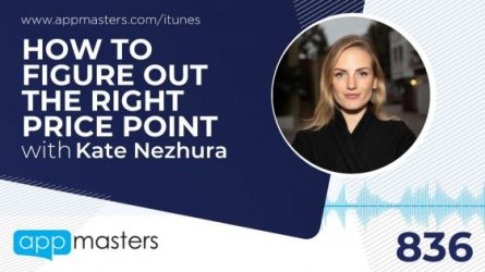 836: How to Figure Out the Right Price Point with Kate Nezhura