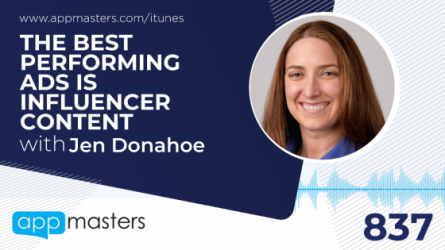837: The Best Performing Ad is Influencer Content with Jen Donahoe