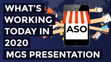 ASO What's Working Today in 2020 – MGS Presentation
