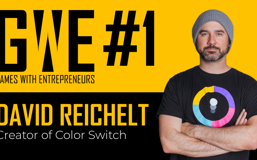 Games with Entrepreneurs #1 – David Reichelt, Creator of Color Switch