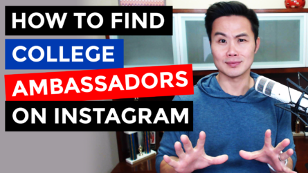 How to Find College Ambassadors on Instagram