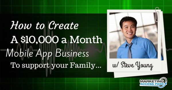 An Interview on Marketing Access Pass: How to Build a Mobile App Business that Generates Passive Income