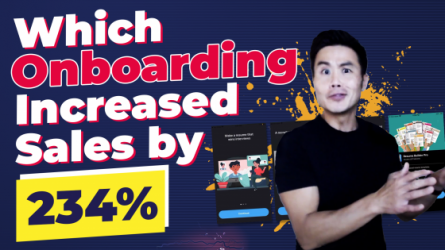 Which Onboarding Flow Increased Conversions by 234%