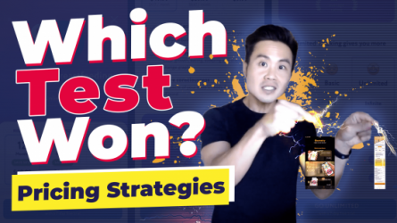 Which Test Won? Pricing Strategies