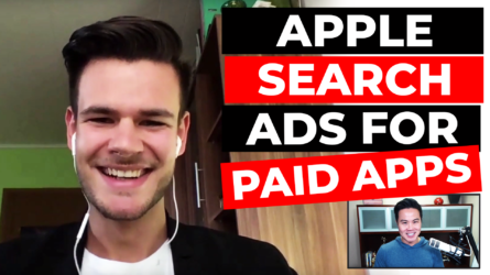 Apple Search Ads for Paid Apps