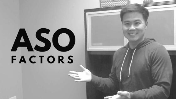 App Store Optimization factors (ASO)