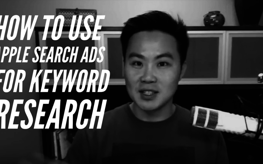 How to Use Apple Search Ads for Keyword Research (ASO)