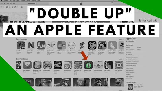 """""""Double Up"""" Your Apple App Store Feature"""